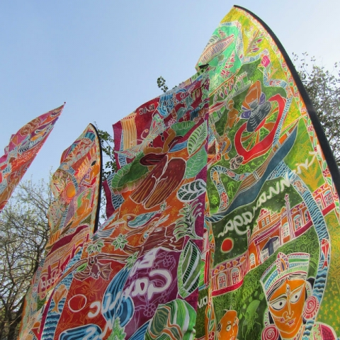 Photo of Silk River scrolls