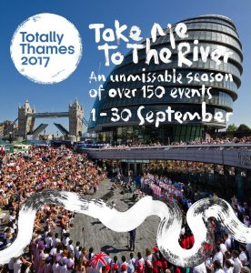 Totally Thames festival graphic