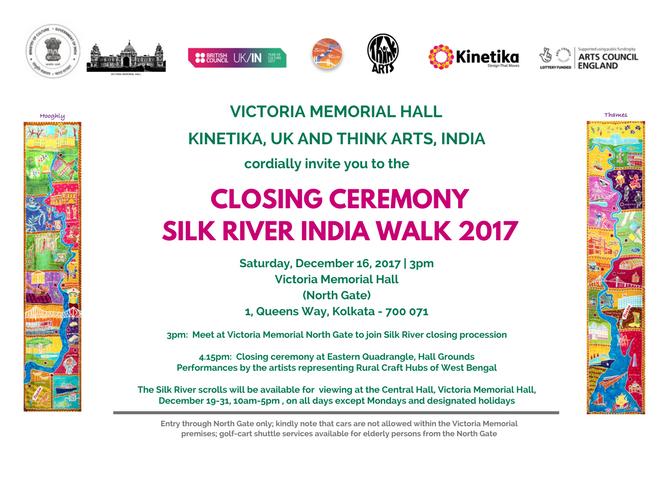 Day 11 16th Dec Botanic Gardens Victoria Memorial Hall Silk River