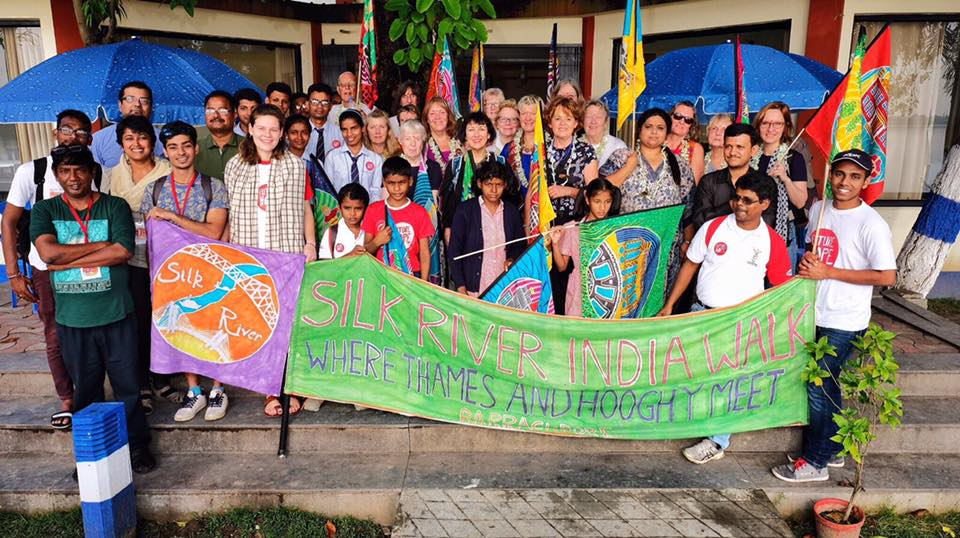 Future Hope welcome Silk River at Barrackpore