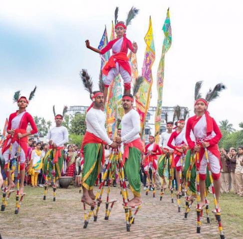 Stilt Walkers of Chandannagar