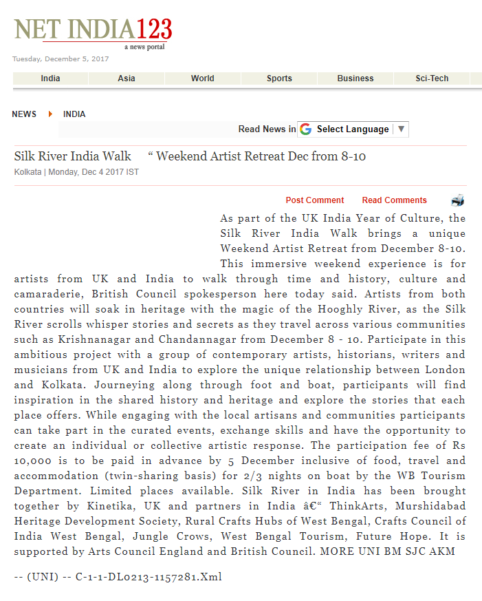 Net India 123 Article